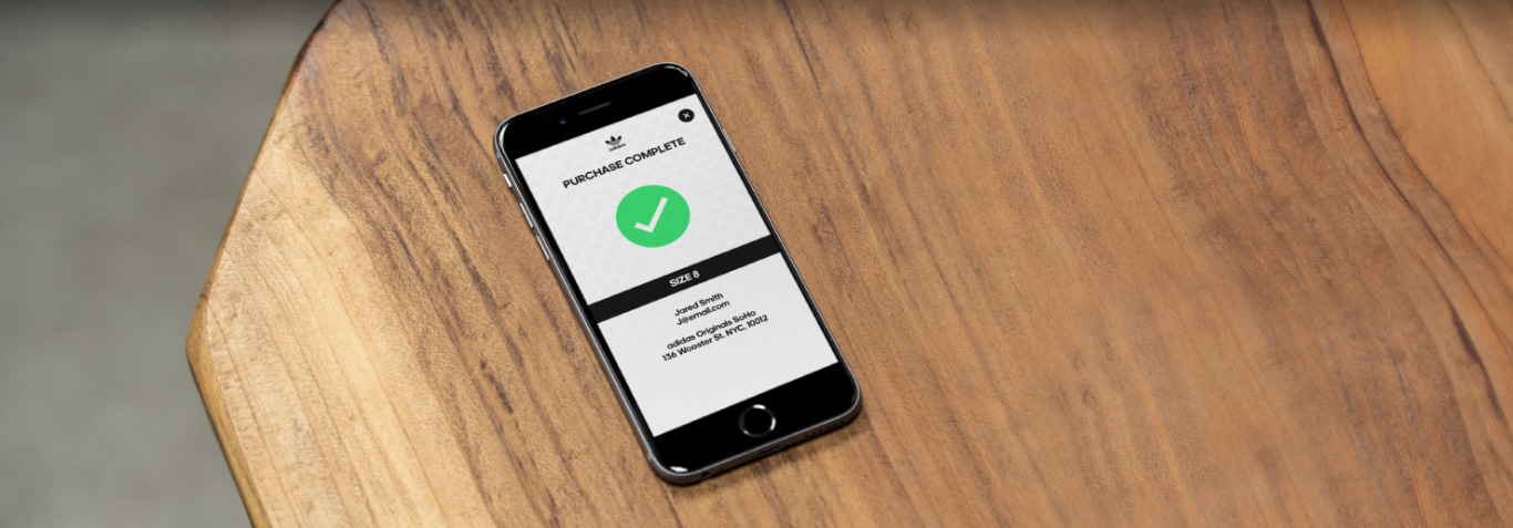 Sneakers For Two Adidas Cue Reservation App Takes Its Cue Adidas From OpenTable   7d6ee2