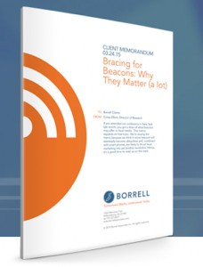 Beacon Matters — And why Beacons Matter, by Borrell Assoc.