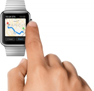Apple Maps meets Apple Watch.