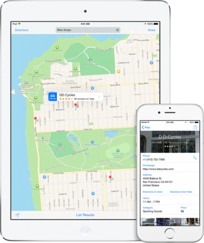 Searching on Apple Maps is much improved since the feature's 2012 debut.