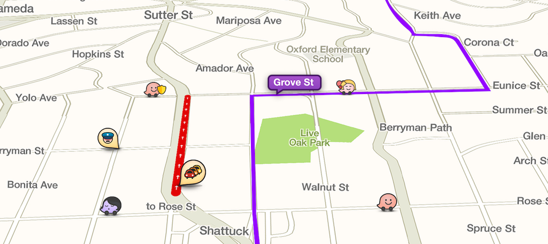 Waze's Branded Pins Drive — Literally — Map Users To Local