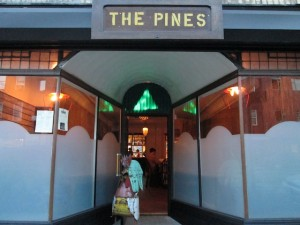 The Pines is a Brooklyn restaurant that has helped turn a previously non-descript strip into a burgeoning restaurant row.