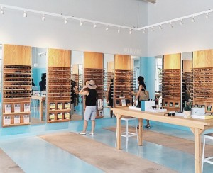 Warby Parker in-store image from Instagram