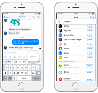 Facebook Messenger's Location Update Paves The Way For More