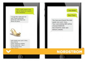 Nordstrom has implemented TextStyle, a personalized shopping experience that takes over mobile, notes PSFK.