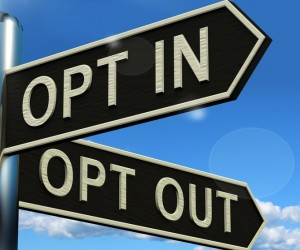 opt in opt out location