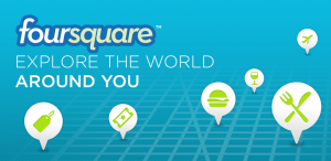 The study was conducted using data from Foursquare