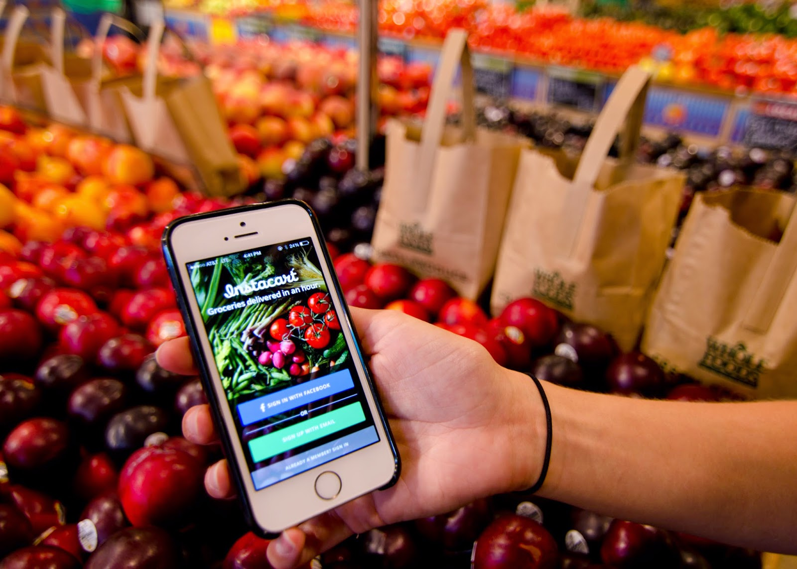 On demand grocery courier instacart acqui hires wedding party app team on demand grocery courier instacart acqui hires wedding party app team junglespirit Image collections