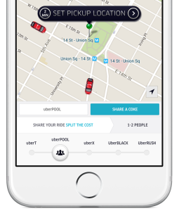 Promo Sharing Uber And Coke Team Up On Car Pooling Offer In Manhattan