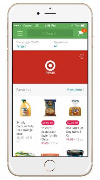 Target and Instacart go shopping together.