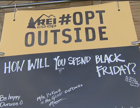 Rei Takes Black Friday Off Embodying Brand Message Of Opt Outside