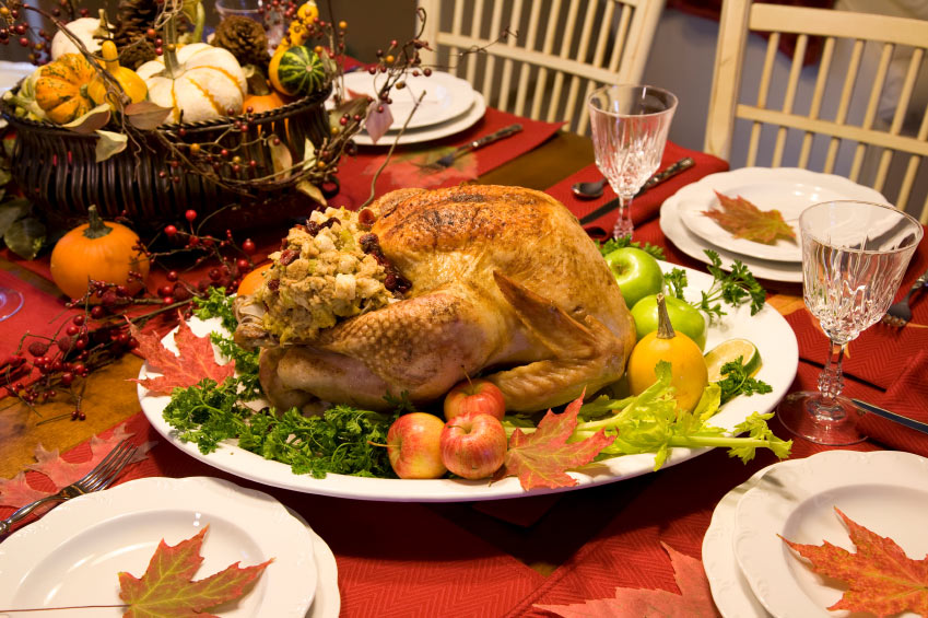 The geomarketing top 5 countdown for Thanksgiving decorating ideas for dinner table