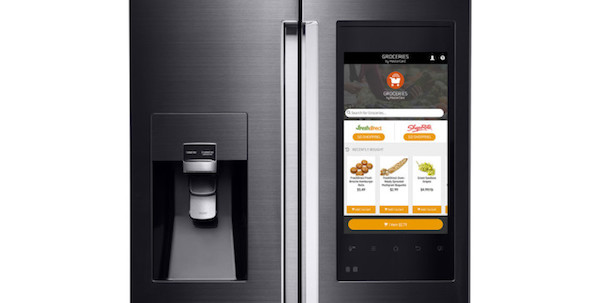 Groceries By MasterCard with Samsung's Family Hub fridge