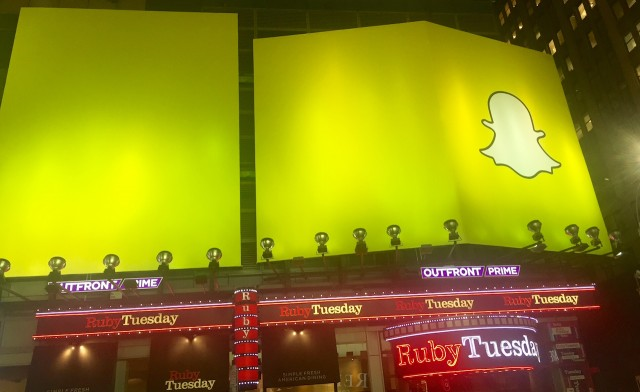 Why Did Snapchat Takeover Times Square Without Geofilters?