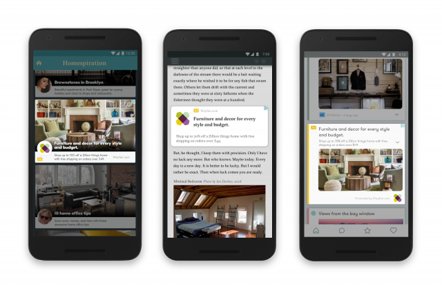 Google's new responsive mobile ads
