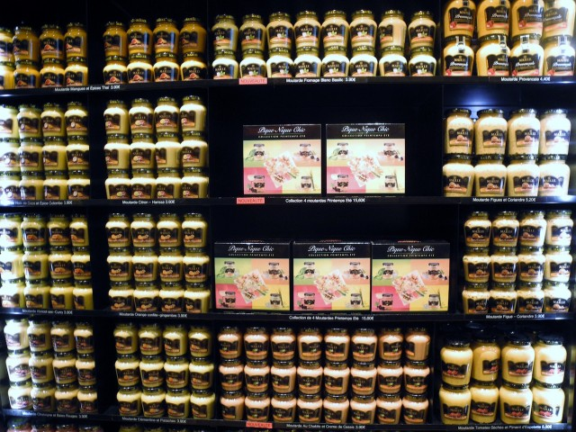 Maille on the shelf.