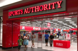 Sports Authority closing