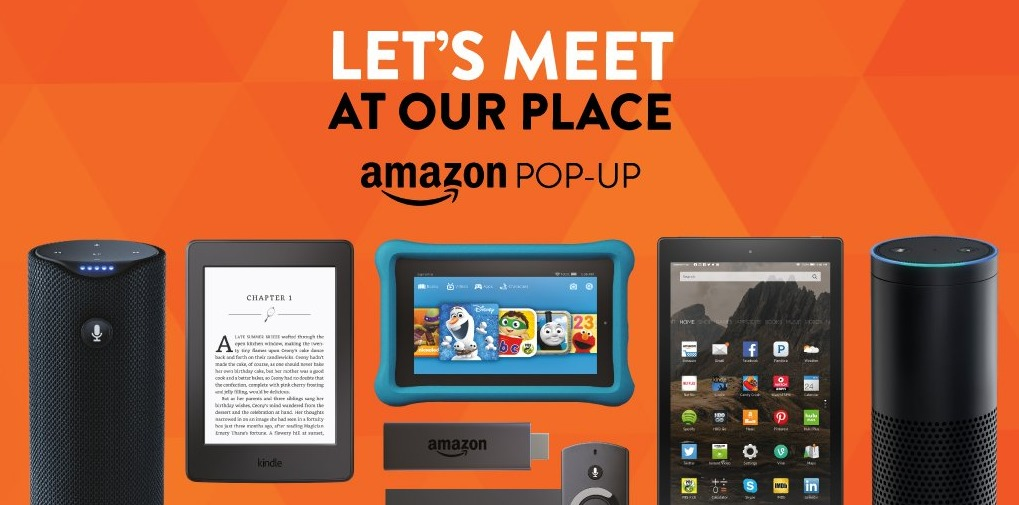 best authentic 3aa32 4f475 Amazon's Latest Offline Move: A Pop-Up Shop In Arizona