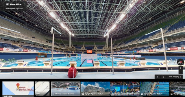 Olympic Aquatics Stadium Estádio Aquático Olímpico by Google Local Guide Werner Kühnert