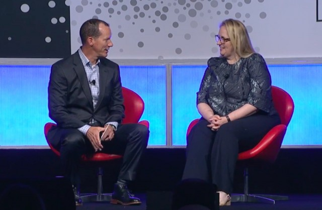 Conversant/Epsilon CEO Bryan Kennedy Interviews Marriott's Karin Timpone at IAB Mixx