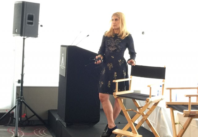 Loft's Michelle Horowitz at The Ad Club of NY's Verticals panel.