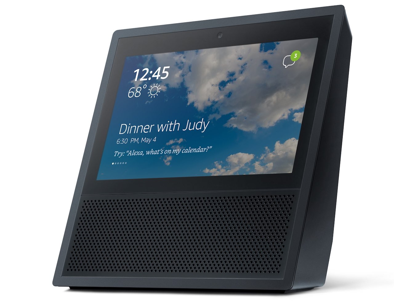 amazon 39 s alexa gets visual with echo show what does it. Black Bedroom Furniture Sets. Home Design Ideas