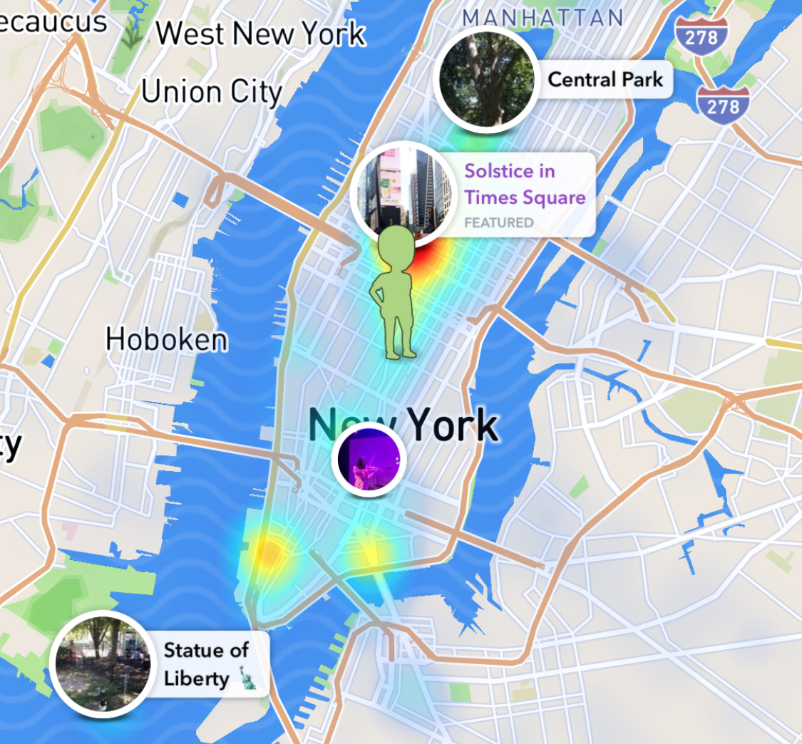 Acquisition Of Zenly Launch Of Snap Map Highlight Snapchats Real