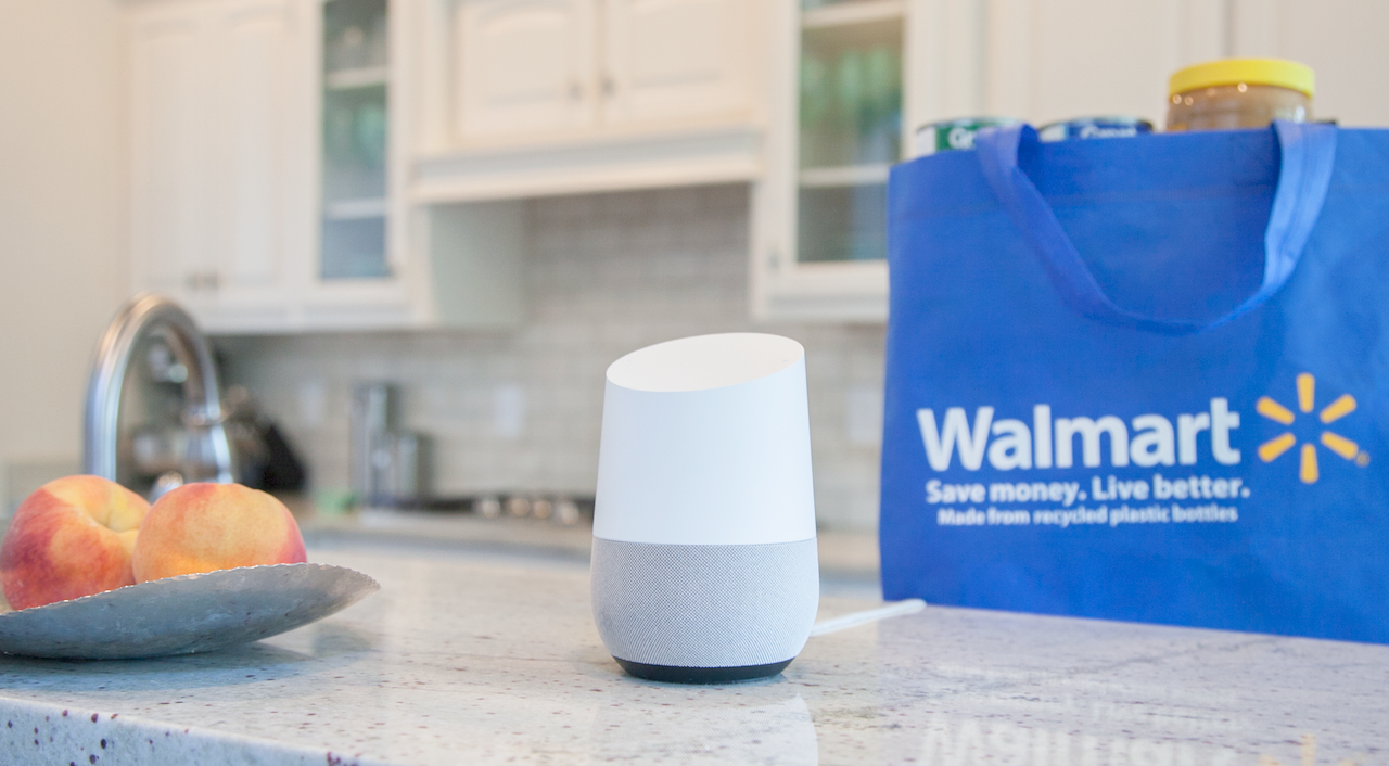 Google And Walmart Forge Voice Shopping Partnership To Challenge Amazon