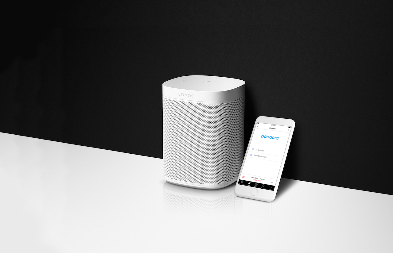 pandora 39 s sonos integration opens more advertisers to the connected home. Black Bedroom Furniture Sets. Home Design Ideas