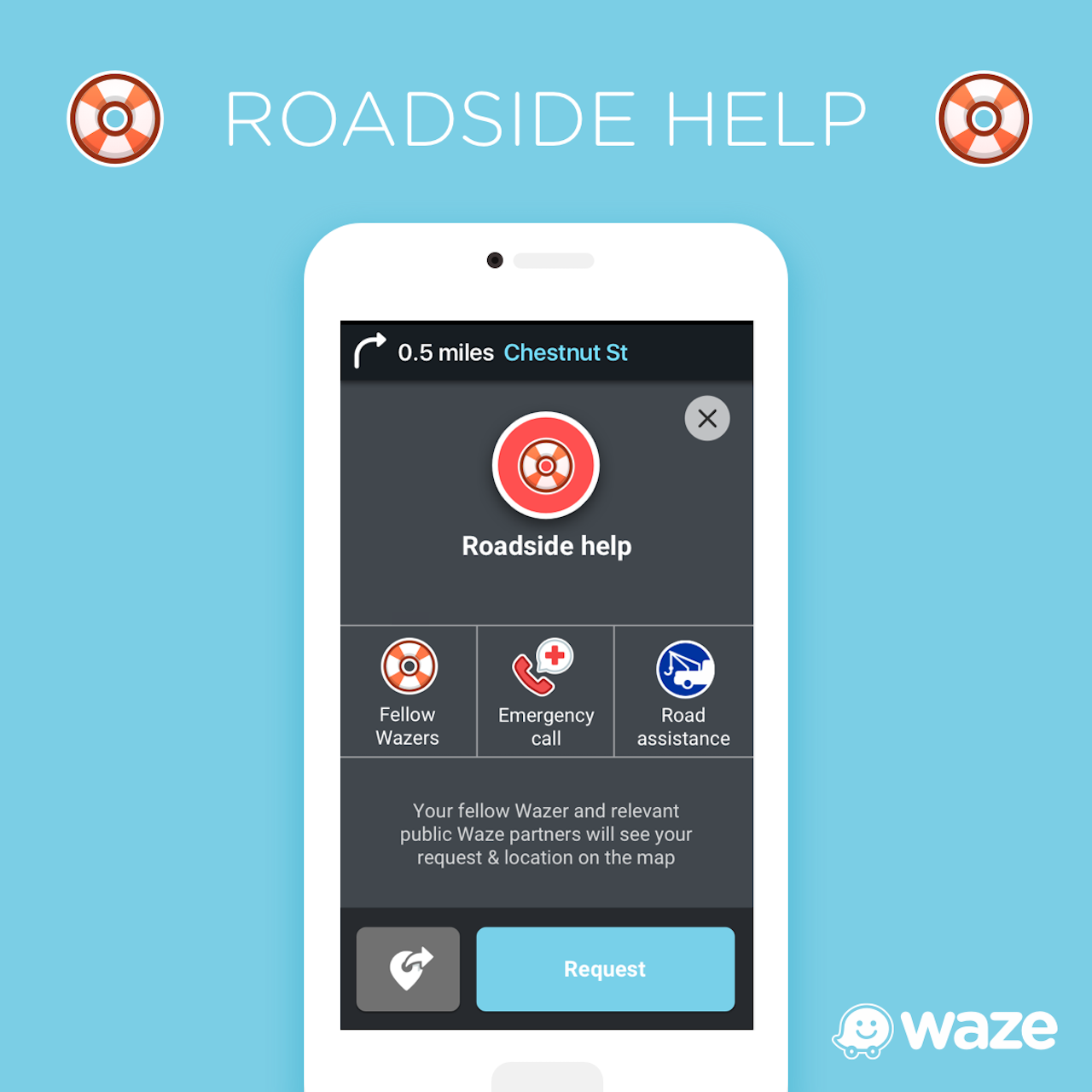 Allstate Roadside Assistance Phone Number >> For Roadside Assistance It S Waze And Allstate To The Rescue