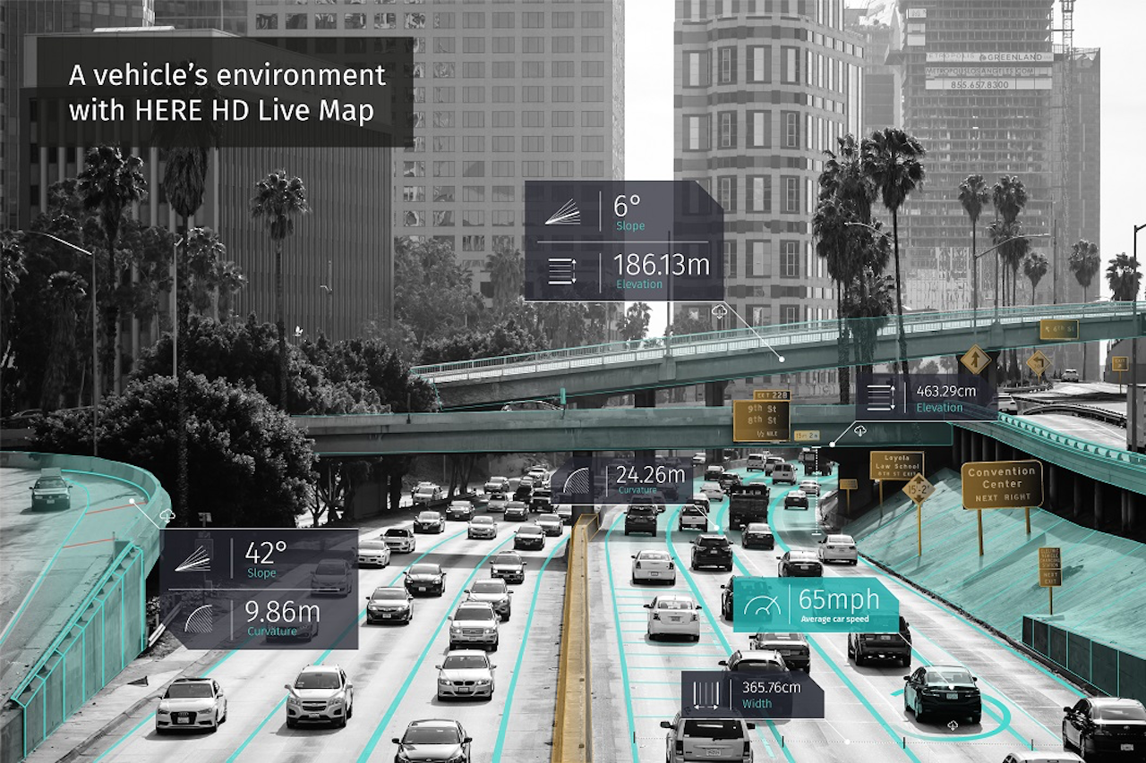 HERE Is Bringing D Maps To BMW Group And Daimler MercedesBenz - Google 3d maps live