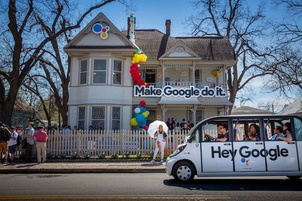 Google emphasized 39 fun 39 for the connected home at sxsw for Google house builder